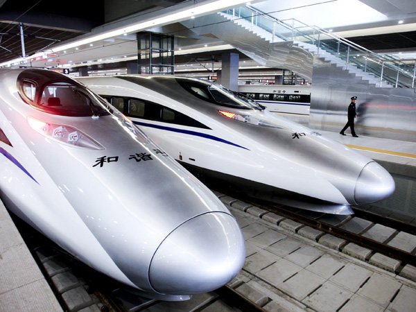 China High Speed Train From Hong Kong To Guilin