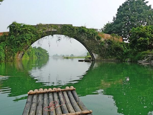 Yangshuo Yulong Bridge 1