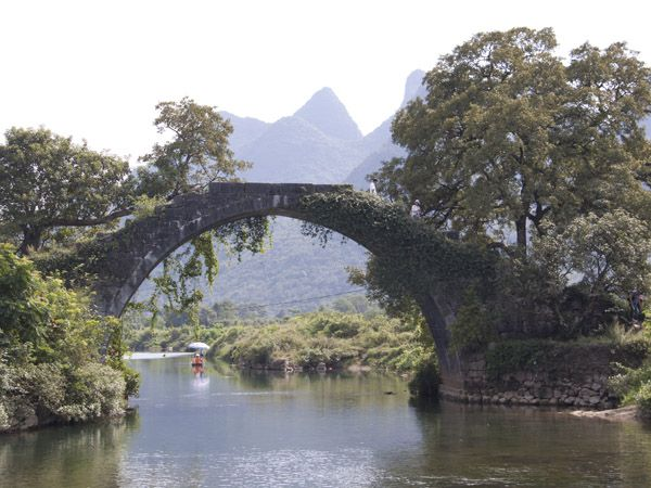 yangshuo yulong fuli bridge 1