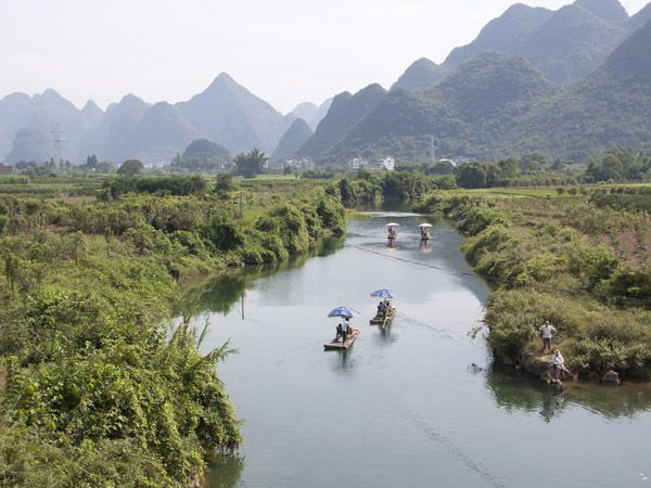 yangshuo yulong fuli bridge 4